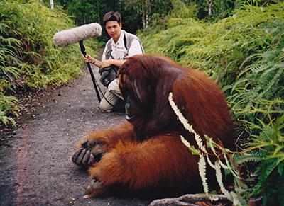 Mark Roberts and the Orangutan